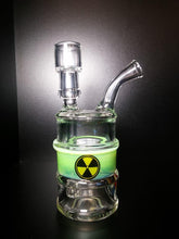 Load image into Gallery viewer, Radioactive Waste Barrel by High Tech Glassworks