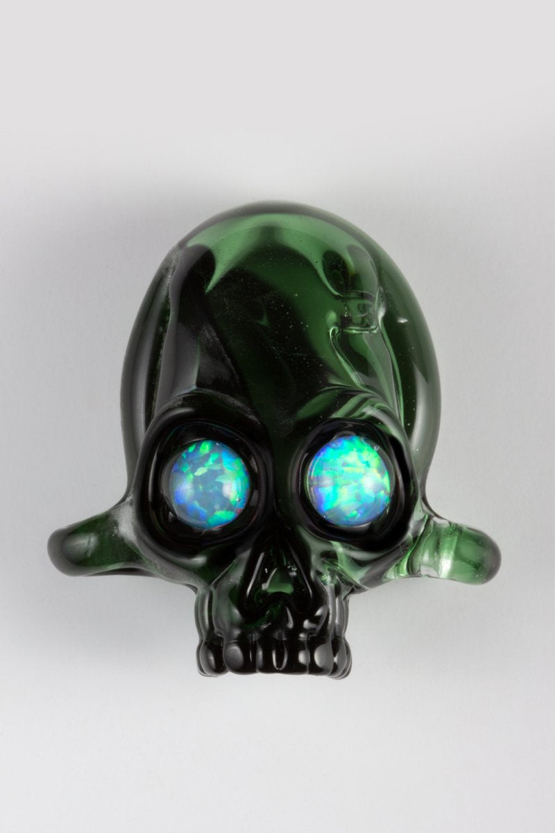 Transparent Green by Northstar Glassworks