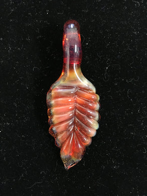 Leaf Pendants by Real Glass N Grass