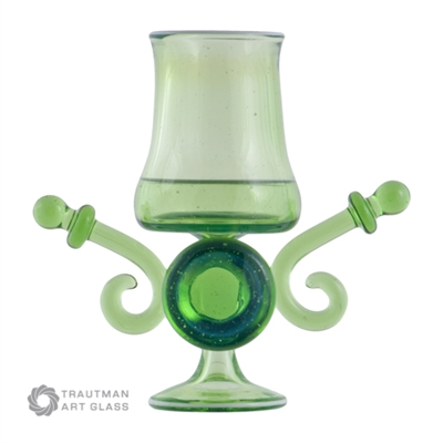 Tropical Green by Trautman Art Glass