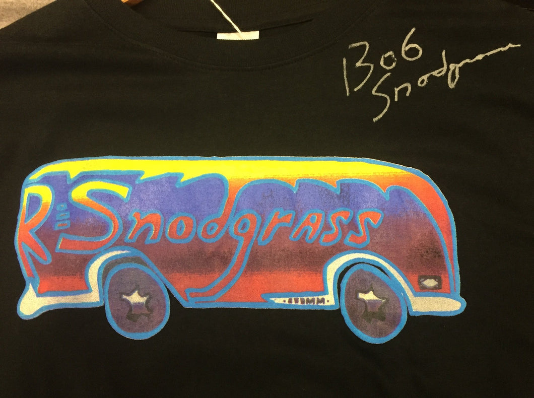 Signed Bus Shirt by Bob Snodgrass