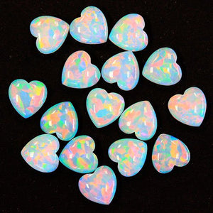 White Opal Hearts by Profound