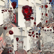 Load image into Gallery viewer, Red Elvis Skull by Drakken