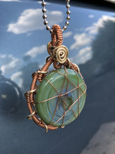 Load image into Gallery viewer, Copper Wrapped Pendant by Struve
