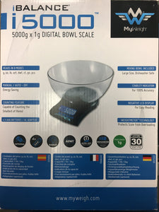 i5000H Bowl Scale by My Weigh