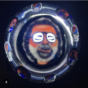 Jerry Garcia Belt Buckle by Jerry Kelly