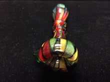Load image into Gallery viewer, Stained Glass Chillum by Shawn & Pipeatier