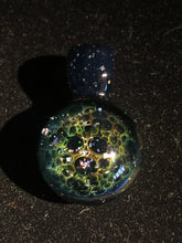 Load image into Gallery viewer, Fumed Honeycomb Over Crushed Opal by Wolfgang Puff