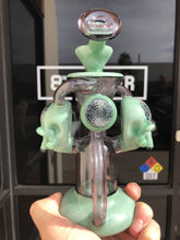 Load image into Gallery viewer, Skull Uptake Recycler #3 by Hendy Glass