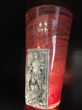 Load image into Gallery viewer, Han Solo Frozen in Carbonite Glass by Jason Chakravarty