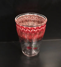 Load image into Gallery viewer, Red Wrap and Rake Drink Set with Ice Bucket by Ed Wolfe