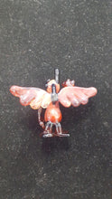Load image into Gallery viewer, Winged Glasstronaut Pendant by Hensley