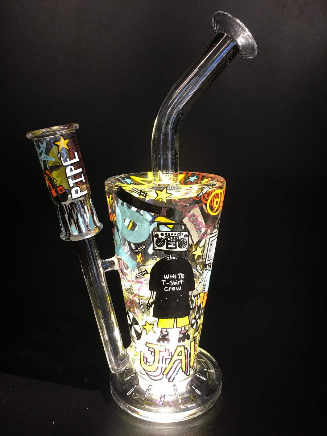 Tagged Sundae Cup by Hitman & Ouchkick