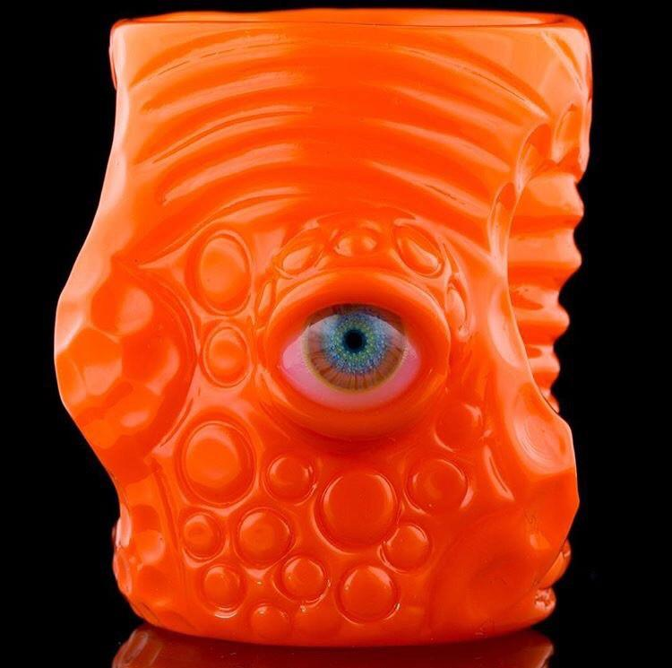 NeoCad Orange Crayon Shot Glass by Salt
