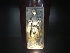 Han Solo Frozen in Carbonite Glass by Jason Chakravarty