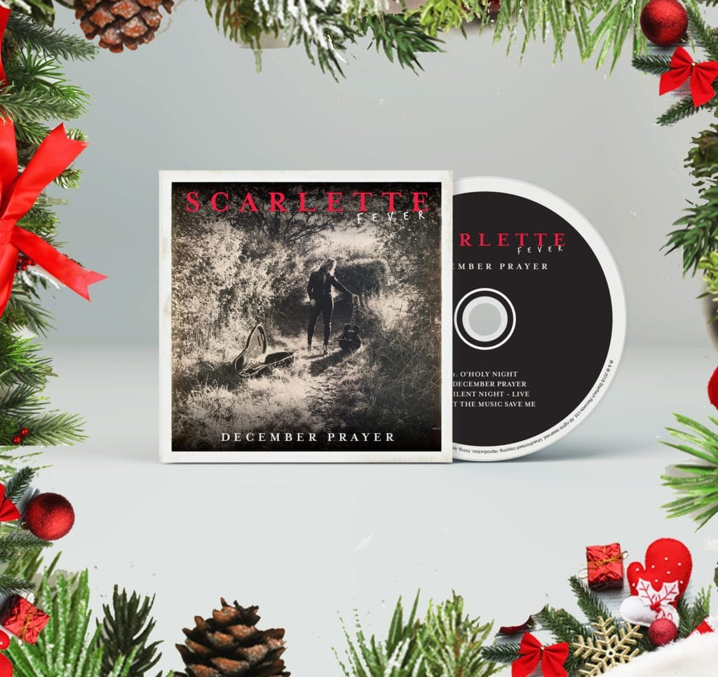 December Prayer Limited Edition hand-signed CD