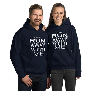 Run Away With Me Navy Unisex Hoodie