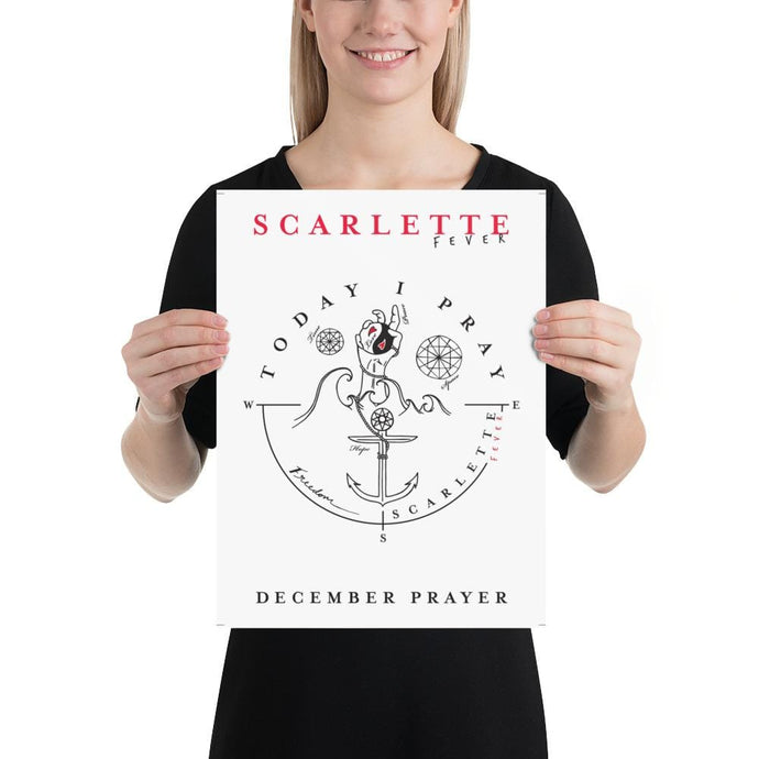 Special Edition December Prayer Poster (Physical)