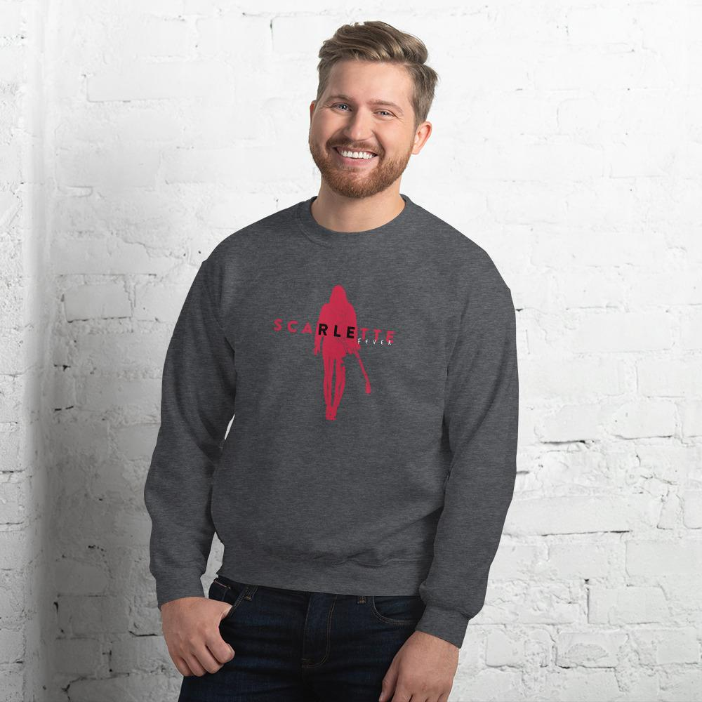 Scarlette Signature Unisex Jumper (Dark Heather)