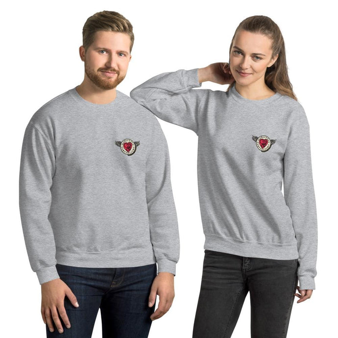 Scarlette's Sweethearts Special Edition Founders Unisex Sweatshirt (Grey)