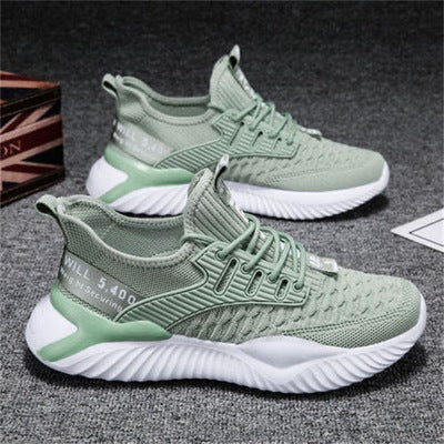 GREEN Men Running Sneakers