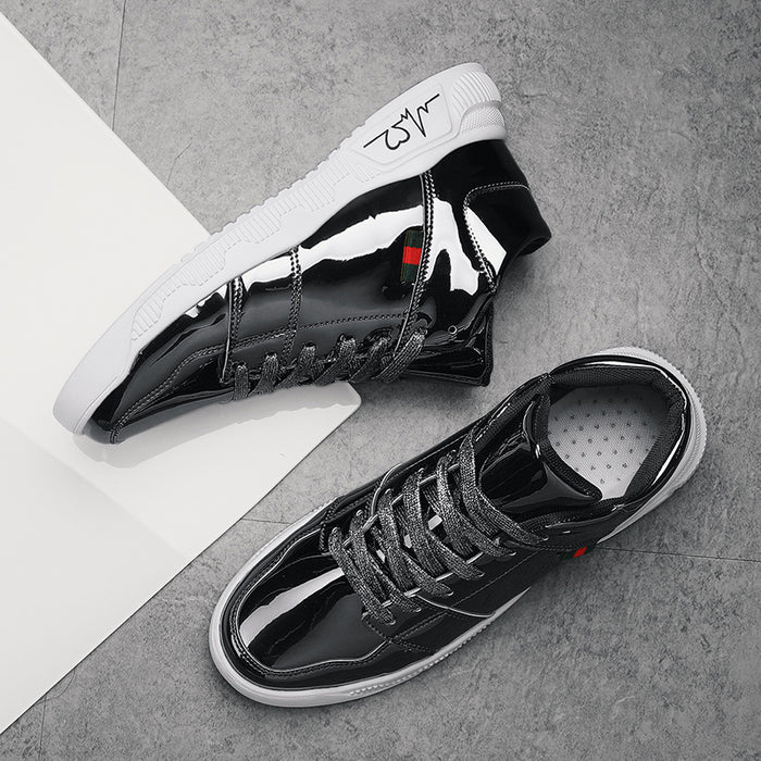 Dark  reflective casual shoes