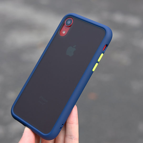 Shockproof Transparent Phone BLUE - TlbatkShop | طلباتك شوب ® Official Site