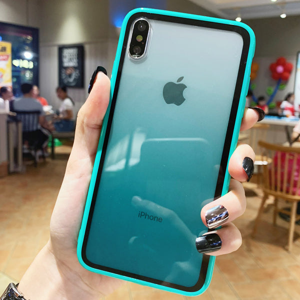 Transparent Acrylic GREEN  Case - TlbatkShop | طلباتك شوب ® Official Site
