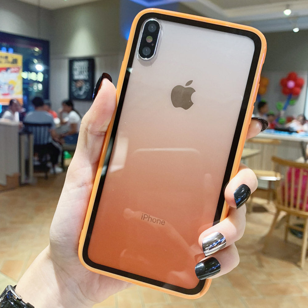 Transparent Acrylic ORANGE Case