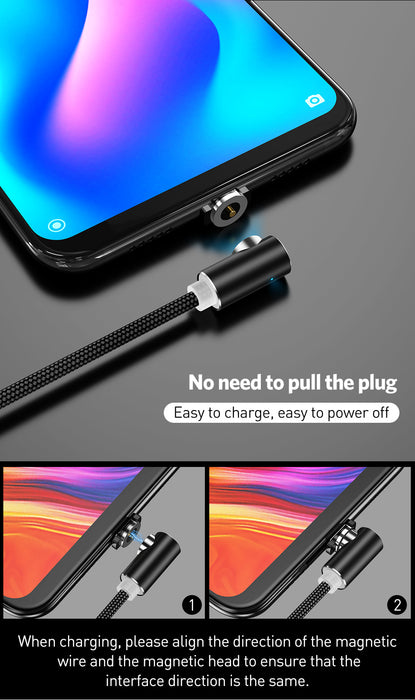 Elbow 1M RD Magnetic Charger Cable 5V 2.1A - TlbatkShop | طلباتك شوب ® Official Site