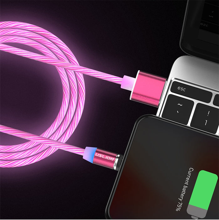 RD LED Magnetic Charging Cables Light - TlbatkShop | طلباتك شوب ® Official Site