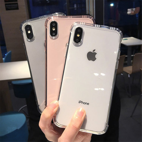 Transparent Shockproof Case DARK - TlbatkShop | طلباتك شوب ® Official Site