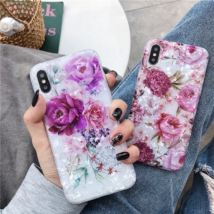 Colorful Flower Soft Phone - TlbatkShop | طلباتك شوب ® Official Site