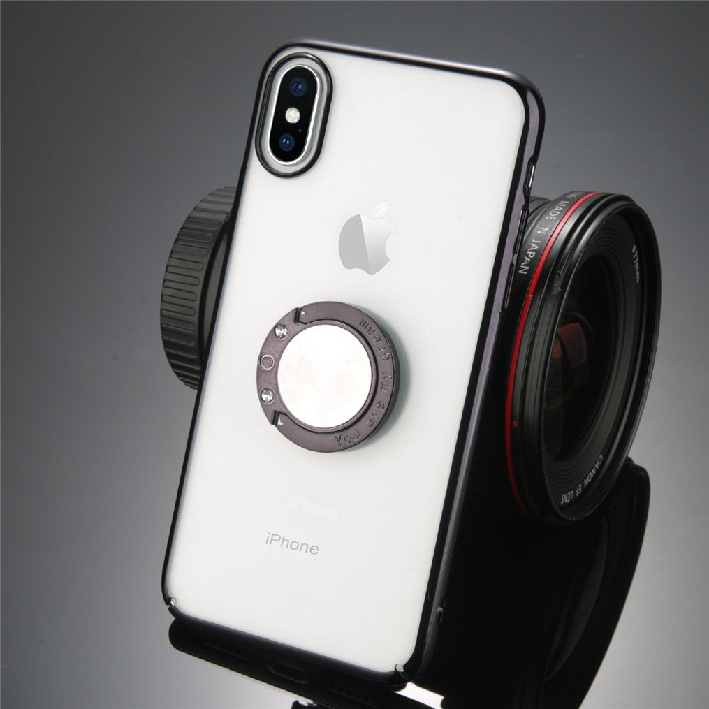 Iphone Black magnet Case