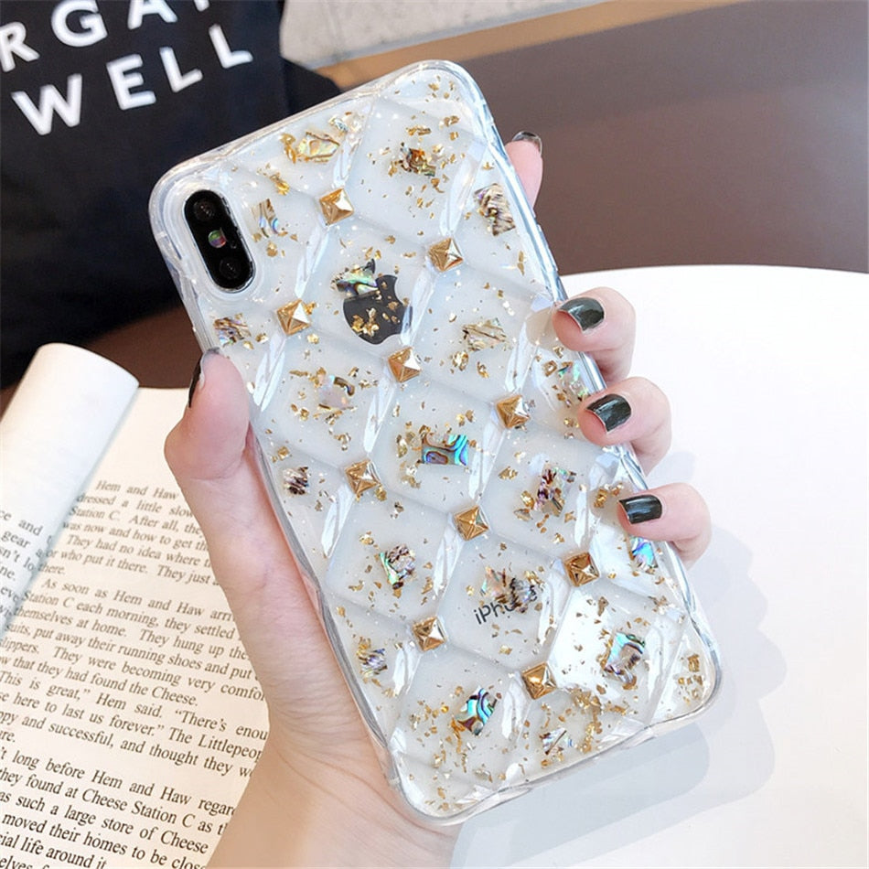 Glitter Powder Silicone Case - TlbatkShop | طلباتك شوب ® Official Site