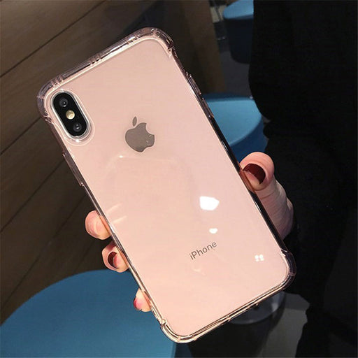 Transparent Shockproof Rose Gold - TlbatkShop | طلباتك شوب ® Official Site