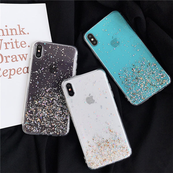 Bling Powder Glitte Dark Case - TlbatkShop | طلباتك شوب ® Official Site