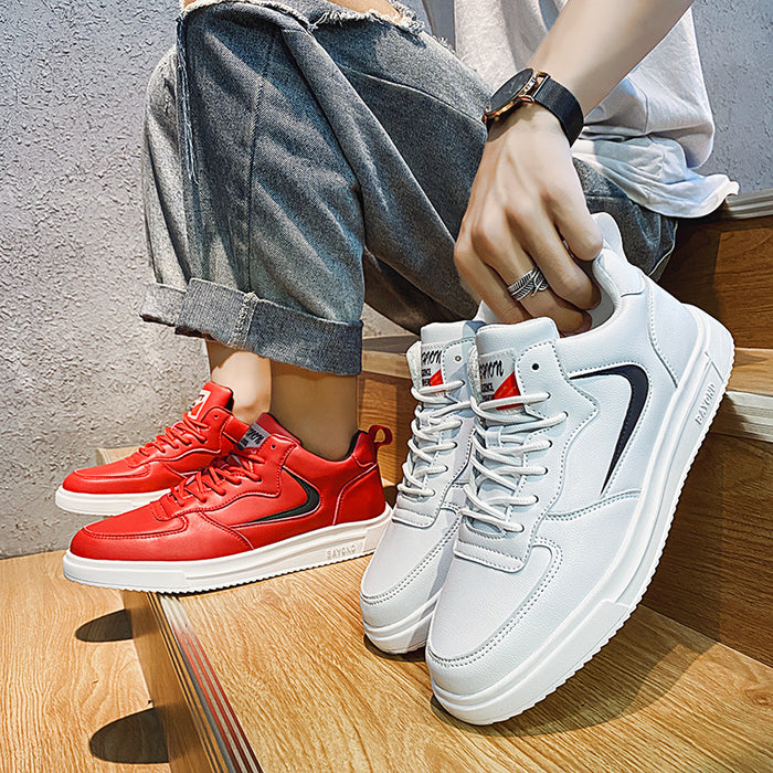 Red -men runners sneakers