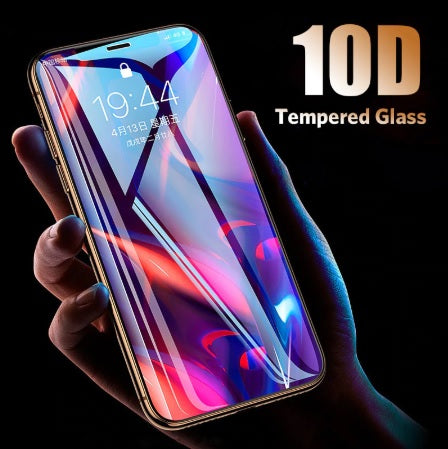 10D Tempered Glass Full Protective Glass - TlbatkShop | طلباتك شوب ® Official Site