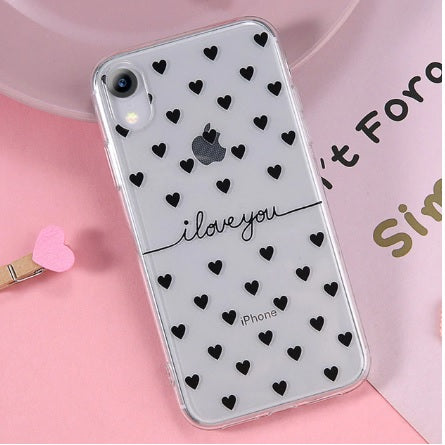 Transparent Ultra-slim Love heart - TlbatkShop | طلباتك شوب ® Official Site