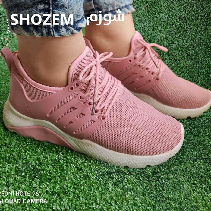 pinky shoes for girls/women