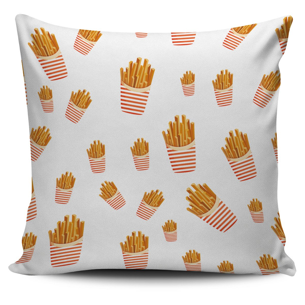 French Fries Collage Pillow Cover