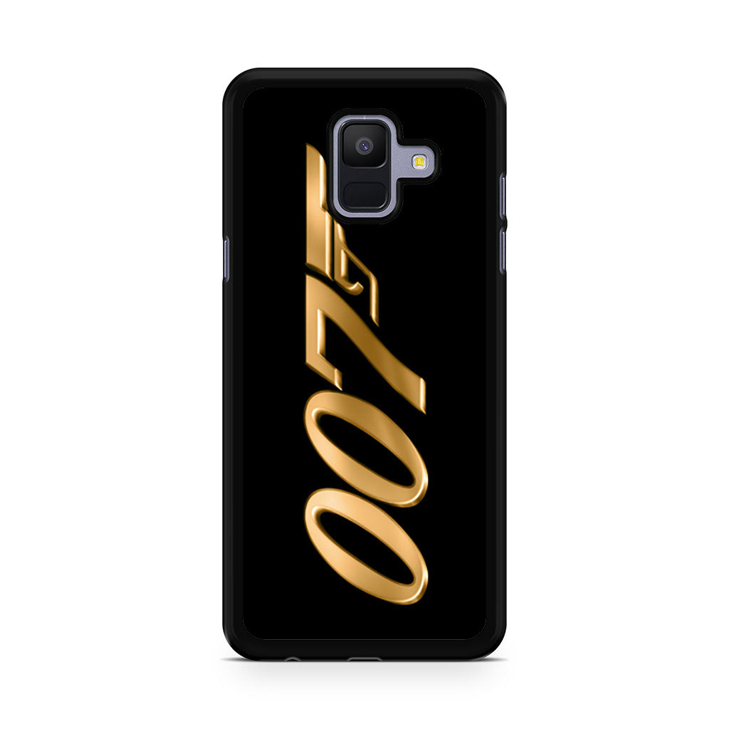 ))7 James Bond Samsung Galaxy A6 2018 Case