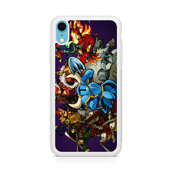 Shovel Knight Characters iPhone XR Case