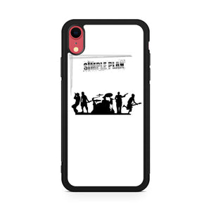 Simple Plan Siluet iPhone XR Case