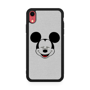 Smiling Micky Mouse (1) iPhone XR Case