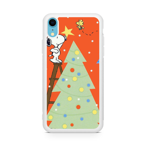 Snoopy Chrismas Moment iPhone XR Case