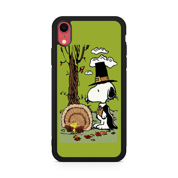 Snoopy under the tree iPhone XR Case
