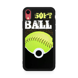 Softball 4 - Z iPhone XR Case