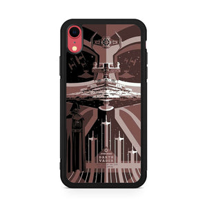 Star Wars Art Darth Vader iPhone XR Case